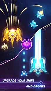 تحميل لعبة galaxy attack مهكرة للاندرويد