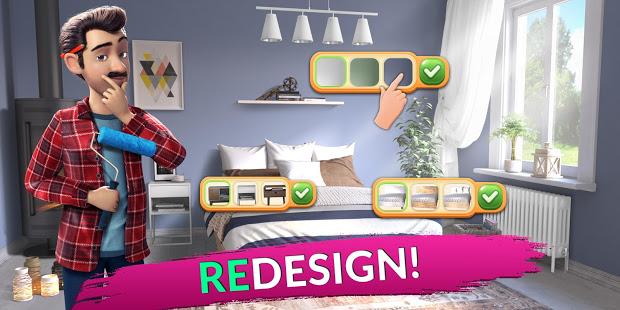 لعبة house designer مهكرة